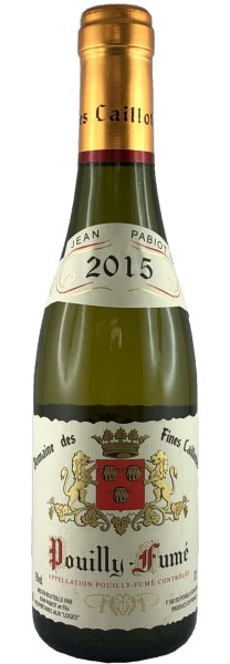 Pouilly Fume Jean Pabiot Domaine Fines Caillottes 2015, 0,375l