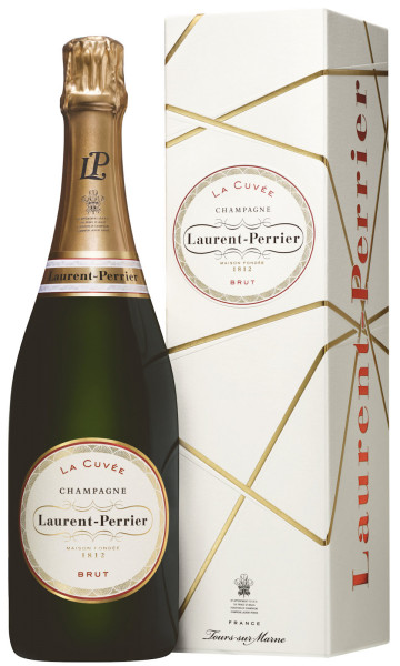 Laurent-Perrier La Cuvée Champagner brut mit Geschenkpackung