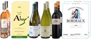 Probierpaket: 6 x 2 Fl. ausgewählte französische Weine