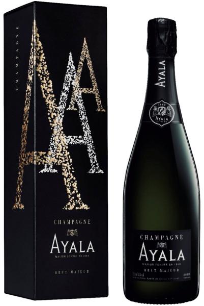 Ayala Brut Majeur Champagner in EOY Geschenkverpackung