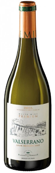 Valserrano Premium Blanco Gran Reserva 2008 (Weißwein)