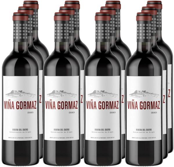 12 Flaschen Viña Gormaz Crianza 2016 (11+1 Angebot)
