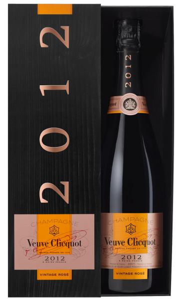 Veuve Clicquot Rosé 2012 Jahrgangs-Champagner Brut 0,75l im Geschenkkarton