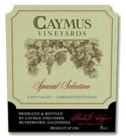 Caymus Cabernet Sauvignon Special Selection 2013 Rotwein