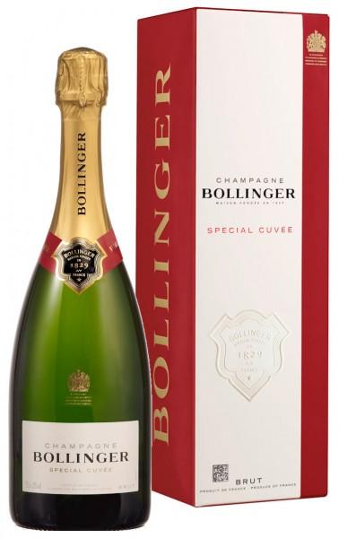 Bollinger Spécial Cuvée im Geschenkkarton