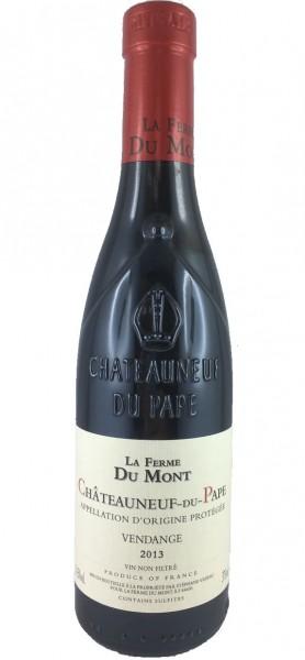 """La Ferme du Mont """"Vendange"""" Rouge 2013 - 0,375l - Châteauneuf du Pape"""