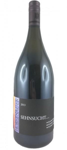 """Horst Sauer """"Sehnsucht 2013"""" - 1,5l Magnumflasche - Silvaner Weißwein"""